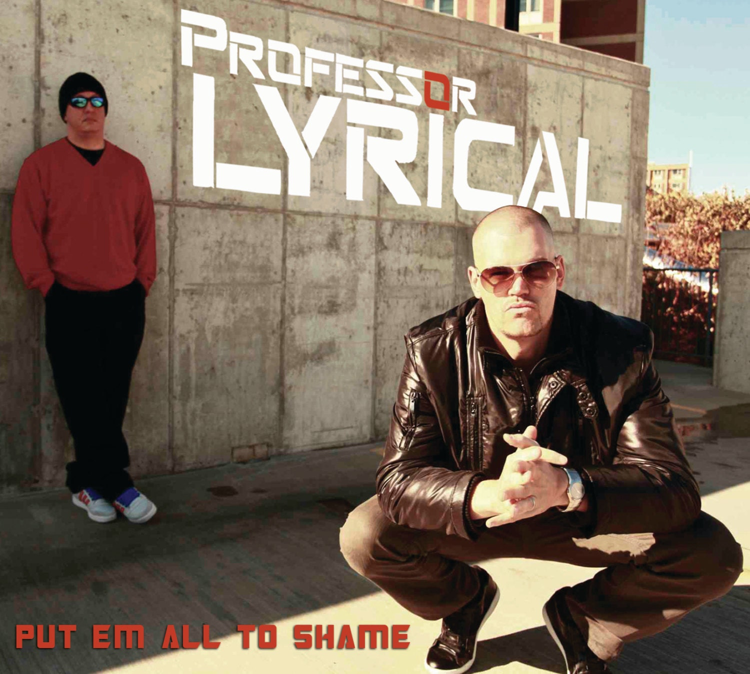 Put Em All To Shame by Professor Lyrical [CD-6 panel full color digi-pack album] -
