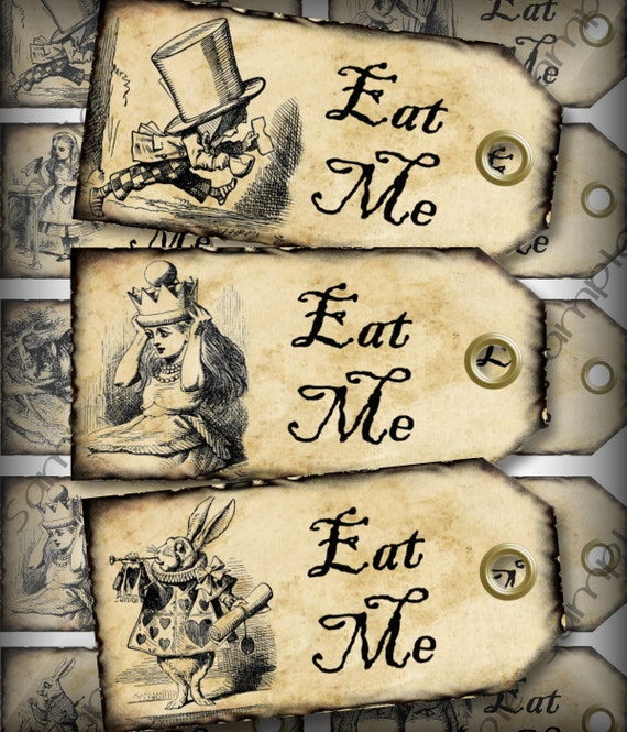 Matrimonio Alice In Wonderland : Eat me alice nel paese delle meraviglie matrimonio partito