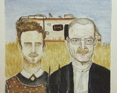 American Gothic appropriation: Walt and Jesse [prints]