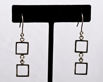 Geo13 - Earrings - Sterling Silver