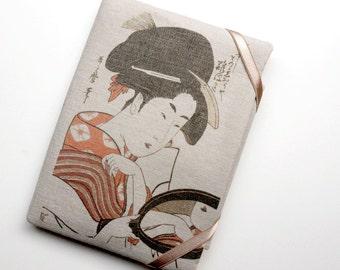 Geisha - Cutom handmade ipad case,iPad Sleeve, iPad Cover, Padded, VHNY by Vany