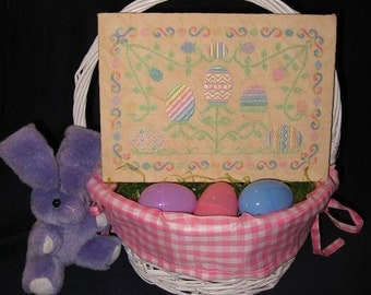 Easter Flowers PDF Chart by Northern Expressions Needlework