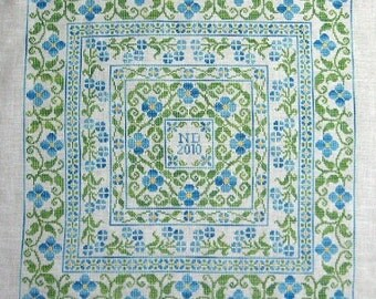 Forget Me Not PDF Chart by Northern Expressions Needlework