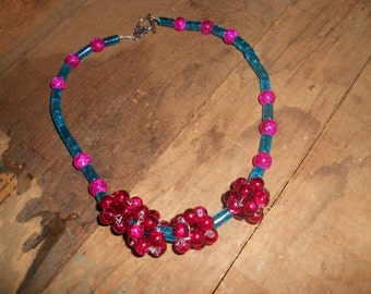 Fun cluster Necklace.