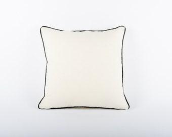 Organic Hemp Cotton Scatter Cushion Cover