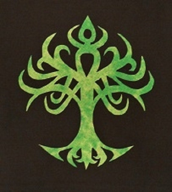 Watch more like Celtic Tree Of Life Stencil