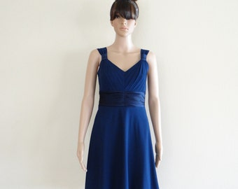 Navy Blue Wedding Dresses navy blue bridesmaid dress – Etsy
