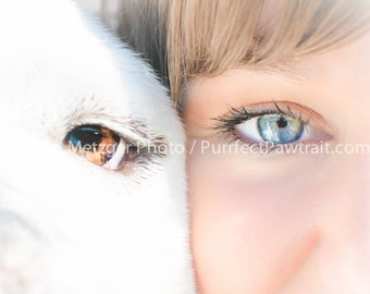 EYE Love you English Bulldog Print, Fine Art Photography Print, Purrfect Pawtrait Pet Photography, Animal Photography