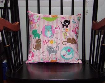 Pillow Case...Meow