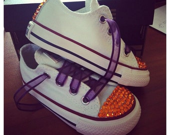 Los Angeles Lakers Colors Bling Converse