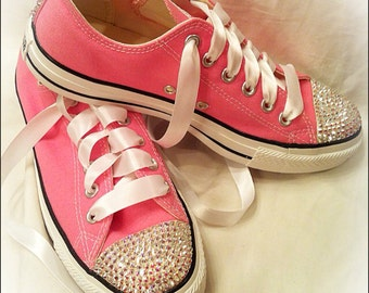 Low Top ADULT Bling Converse