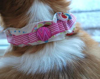 Dog Collar Cover, Dog Collar Sleeve, Pet Collar Cover, Pet Supplies, Home and Living Pets, Pet Necwear, Pet Accessories, Pink Pet Clothing