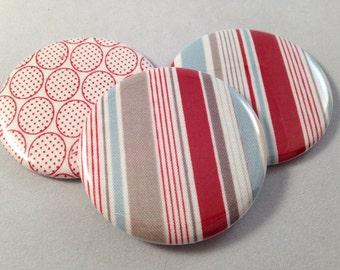 Stripes and Circles Pocket Mirrors