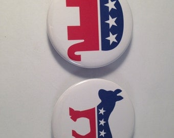 Political Bottle Openers, politics, republican, democrat