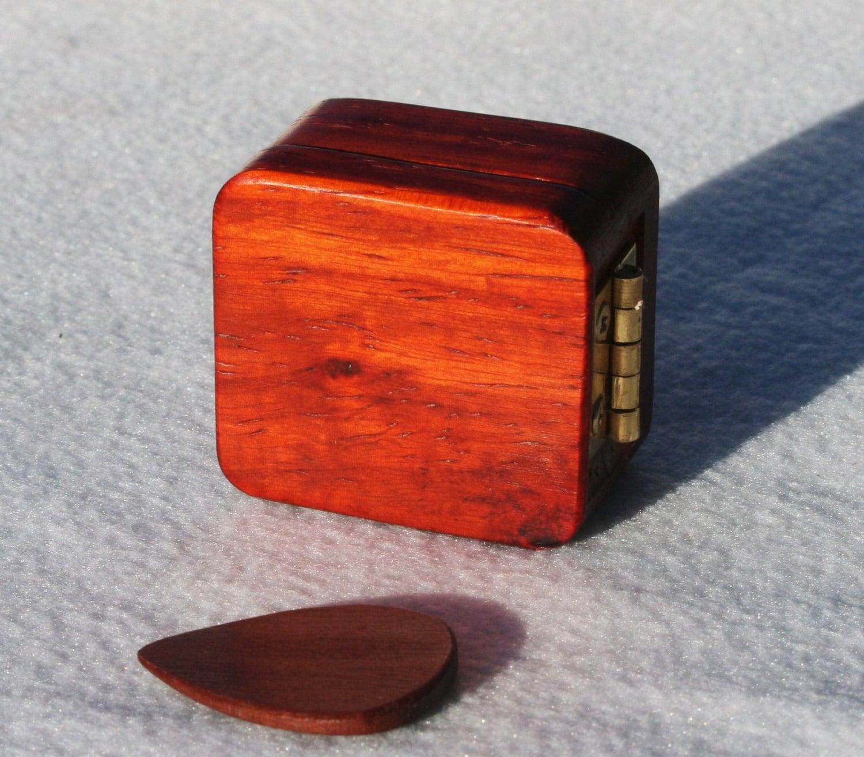 wooden guitar pick box plectrum holder acoustic guitar by debandf. Black Bedroom Furniture Sets. Home Design Ideas