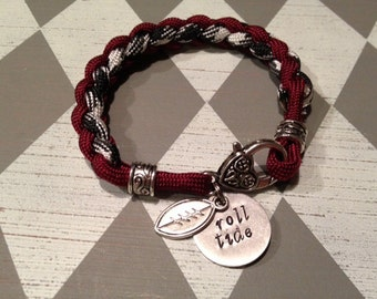 Alabama 'roll tide' bracelet