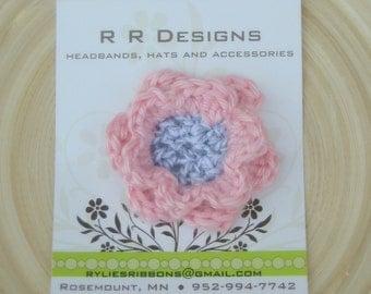 Crochet Flower Clip - You choose One!