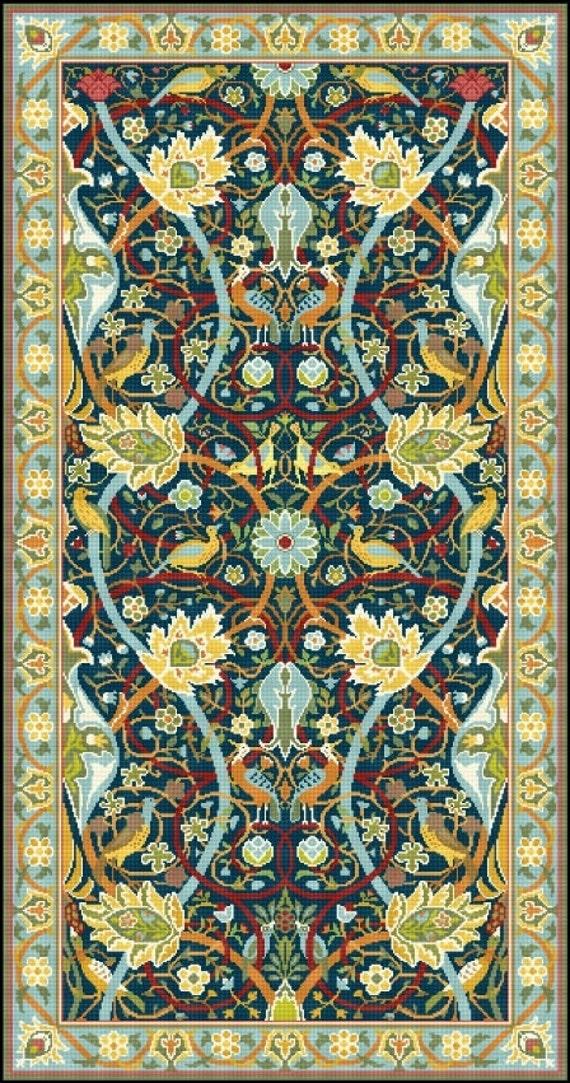 Items Similar To Bullerswood Rug Carpet By William Morris