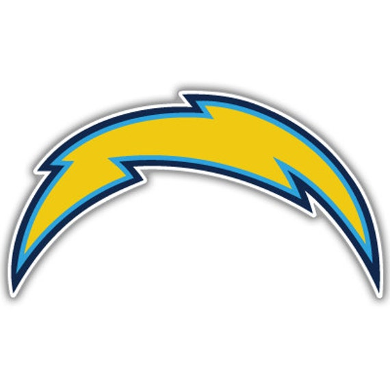 San Diego Chargers Decals: San Diego Chargers NFL Football Sticker Decal 6 X 3 By