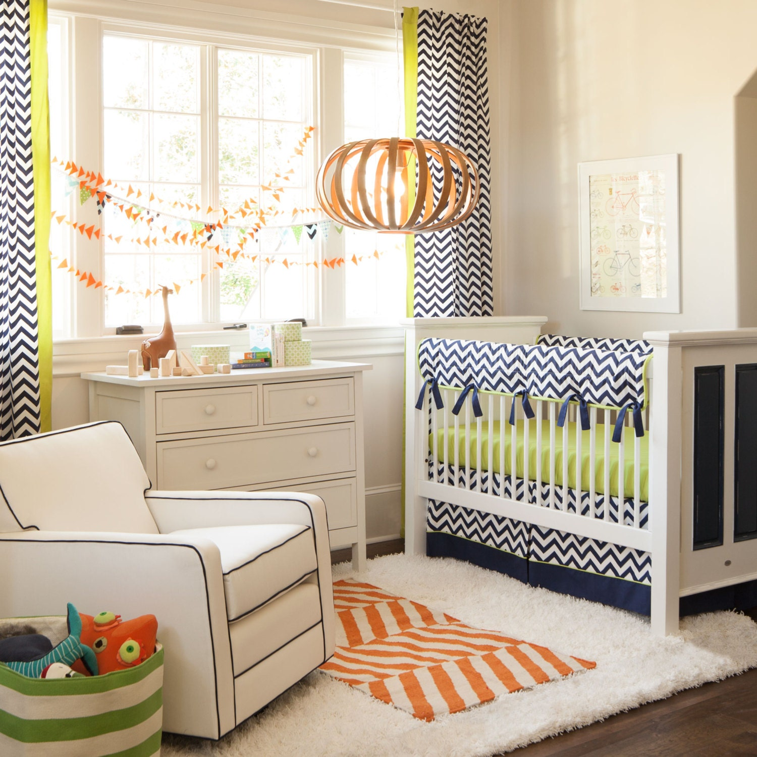 Baby cribs bedding for boys -  Zoom