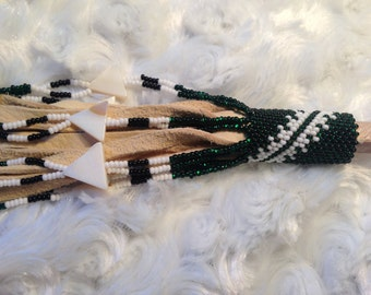 Beautiful Hand Made Beaded Native American style Hair Stick