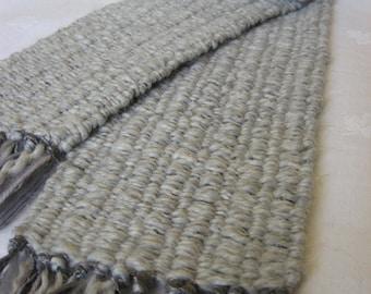 "Handwoven scarf - ""Sheepish"""