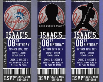 Custom Yankees Birthday/Event Invitation!