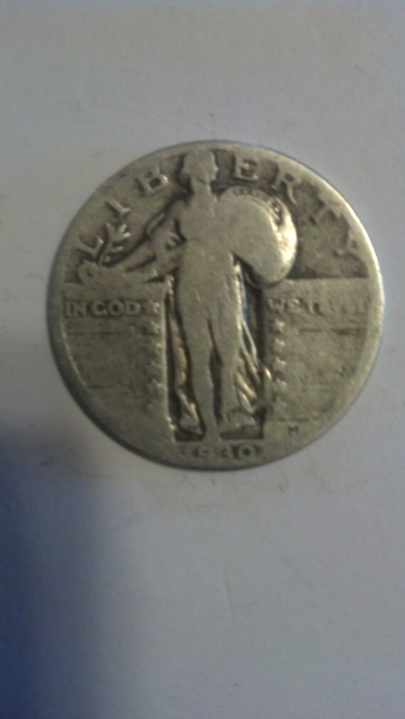 1930 Standing Liberty Silver Quarter