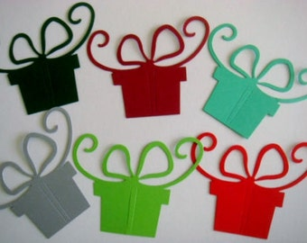 15 large Christmas Gift Boxes for cards/toppers for cardmaking scrapbooking craft