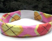 Multicolor Argyle Headband from Urban Infant