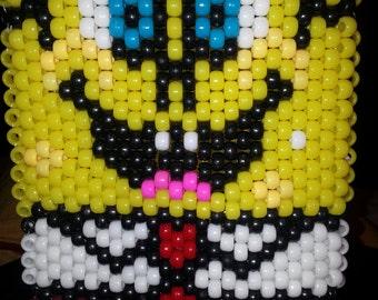 Spongebob Kandi Backpack, can be custom or ordered as shown