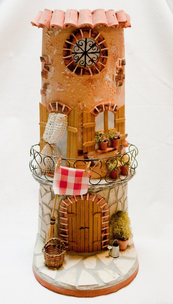 items similar to handcrafted tegola home decor house