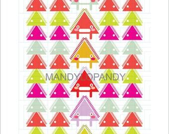Monster Mountain, Digital Illustration, Limited Prints, 11x14
