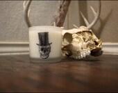 Soy Wax Candle-Sucre Noir Scent 10oz