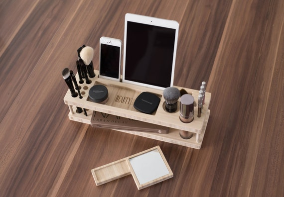 Gift For Her - Taylor Beauty Station | Daily Make-up Organizer with Mirror - Fast Shipping