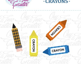 Crayons Fabric APPLIQUE TEMPLATE Only PDF - Instant Download - Permission to Sell Finished Items