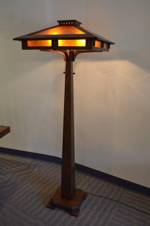 Prairie Craftsman Floor Lamp By Ragsdale Home Furnishings And