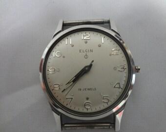 Vintage 1950's Men's ELGIN Watch