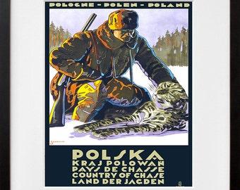 Poland Art Print Polish Travel Poster (TR104)