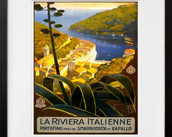 Italy Art Print Italian Home Decor Travel Poster (XR111)