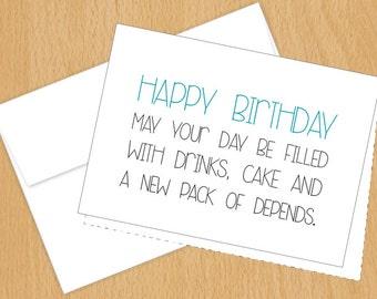 Happy Birthday; Funny Birthday Cards; 4bar