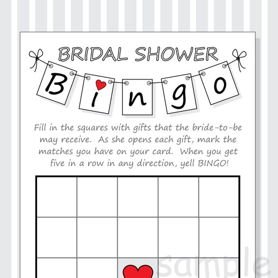 Old Fashioned image pertaining to bridal shower bingo printable