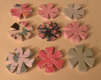 Different Pattern Flower Die Cut Outs!