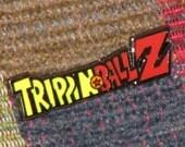 Trippin Ball Z Dragon Ball Z LSD 25 Blotter Art Hat Pin w/ Grateful Dead Decal & Bassnectar Bumper Sticker Lot