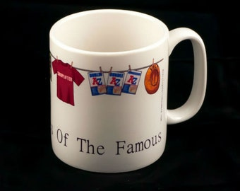 Morrissey 'Washing Lines Of The Famous' mug