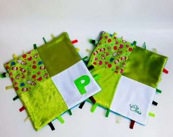 Personalized Sensory Taggie Blanket / Comfort Taggie Blanket