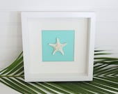 Small Seaside Shadowbox- Starfish/Sand Dollar