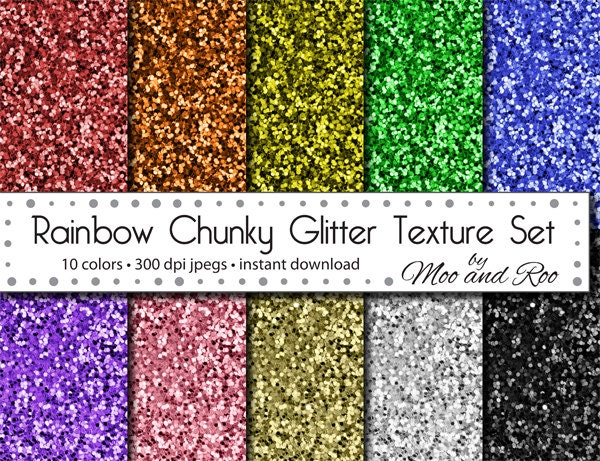 Geeky image within printable glitter paper