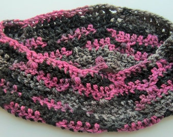 Chunky Patterned Infinity Scarf