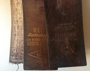 Antique Leather Razor Sharpening Strop